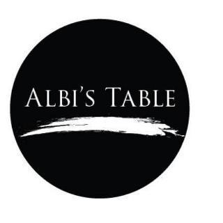 albi's table logo